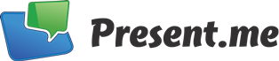Present.me is taking online presentations to a new level by enabling viewers to see both the content and the presenter, side-by-side