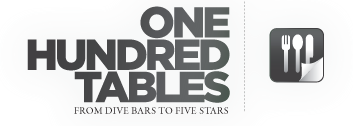 One Hundred Tables logo