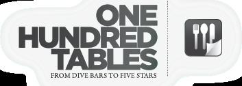 One Hundred Tables logo