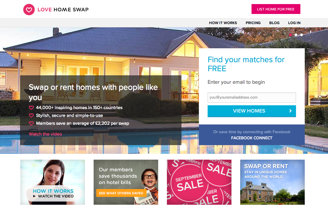 Love Home Swap screenshot