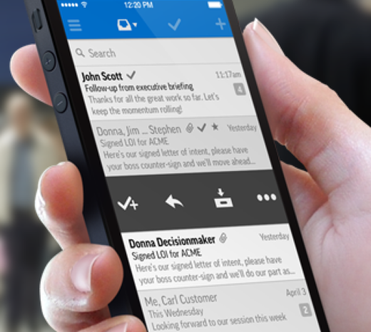 With backing from Salesforce.com, Tylr Mobile wants to make email a productivity tool for mobile sales teams