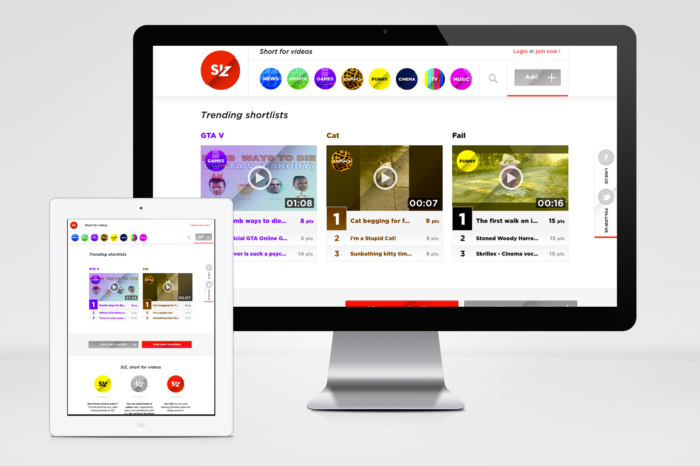 Featured Startup Pitch: Online video overload? Siz wants to help with its user-curated platform