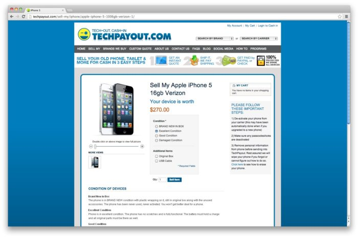 Featured Startup Pitch: TechPayout sees big opportunity in the highly-competitive mobile device buyback market