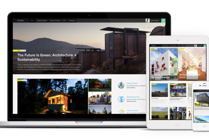 Architizer wants to streamline architecture by bringing project portfolios and the building materials sourcing process online