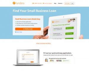 Fundera Home Page
