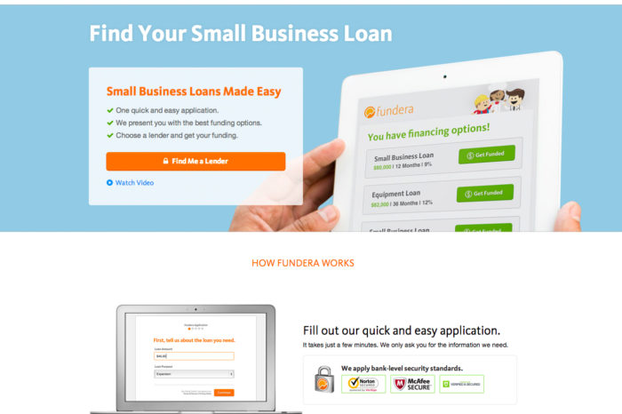 Kayak for small business loans: Fundera is helping growing small businesses tap into non-bank alternative lending