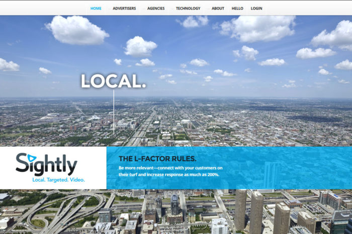 Sightly is going after the highly coveted hyper-local ad market with its multi-device video platform