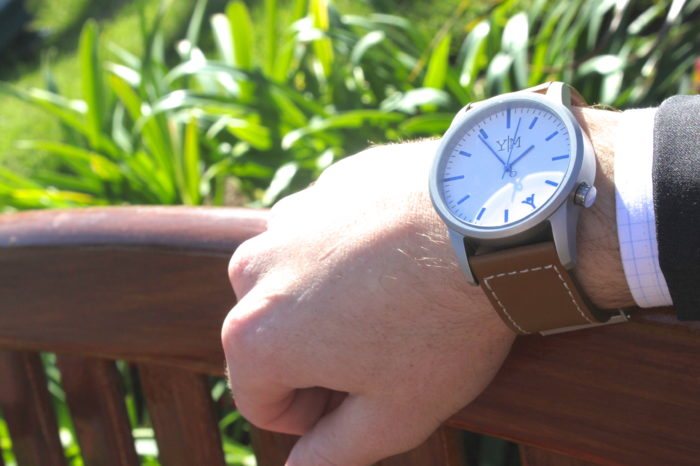 Founded by a college student who wanted to help others better manage their time, Yes Man Watches is approaching the wrist watch from a fresh perspective
