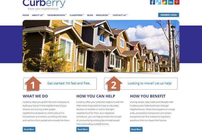Just-launched Curberry wants to help prospective home buyers find out what's really happening in a neighborhood