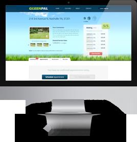 GreenPal features-imac