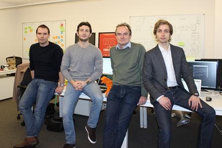 The Ometria founding team.