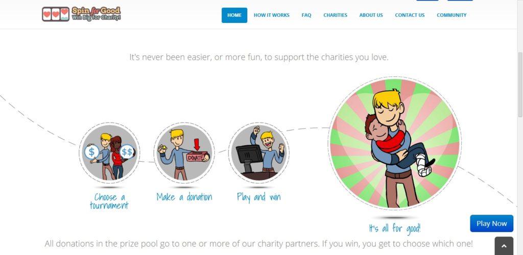 SpinforGood screenshot