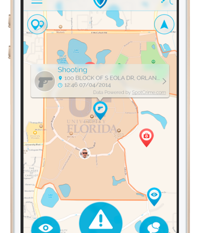 TapShield's personal safety platform utilizes mobile technology and crowdsourcing for more rapid response and emergency notification