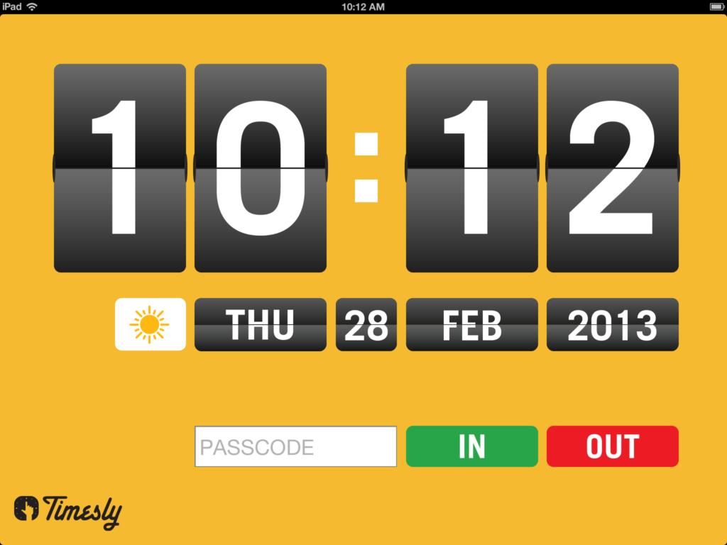 Timesly screenshot1