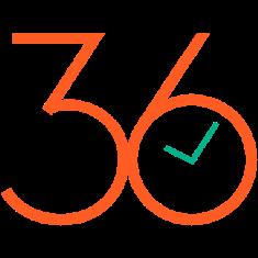 36hrs logo