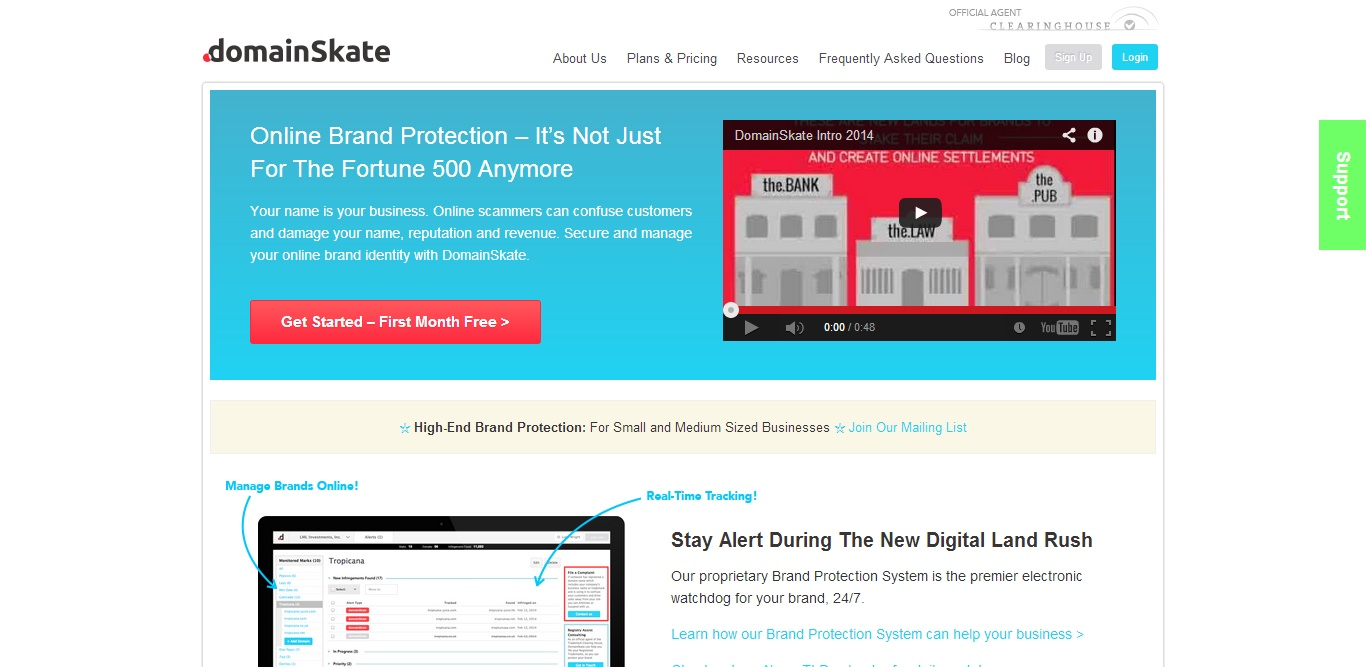 Featured Startup Pitch: As domain names become increasingly more valuable, DomainSkate is focused on helping SMBs protect themselves against domain infringement
