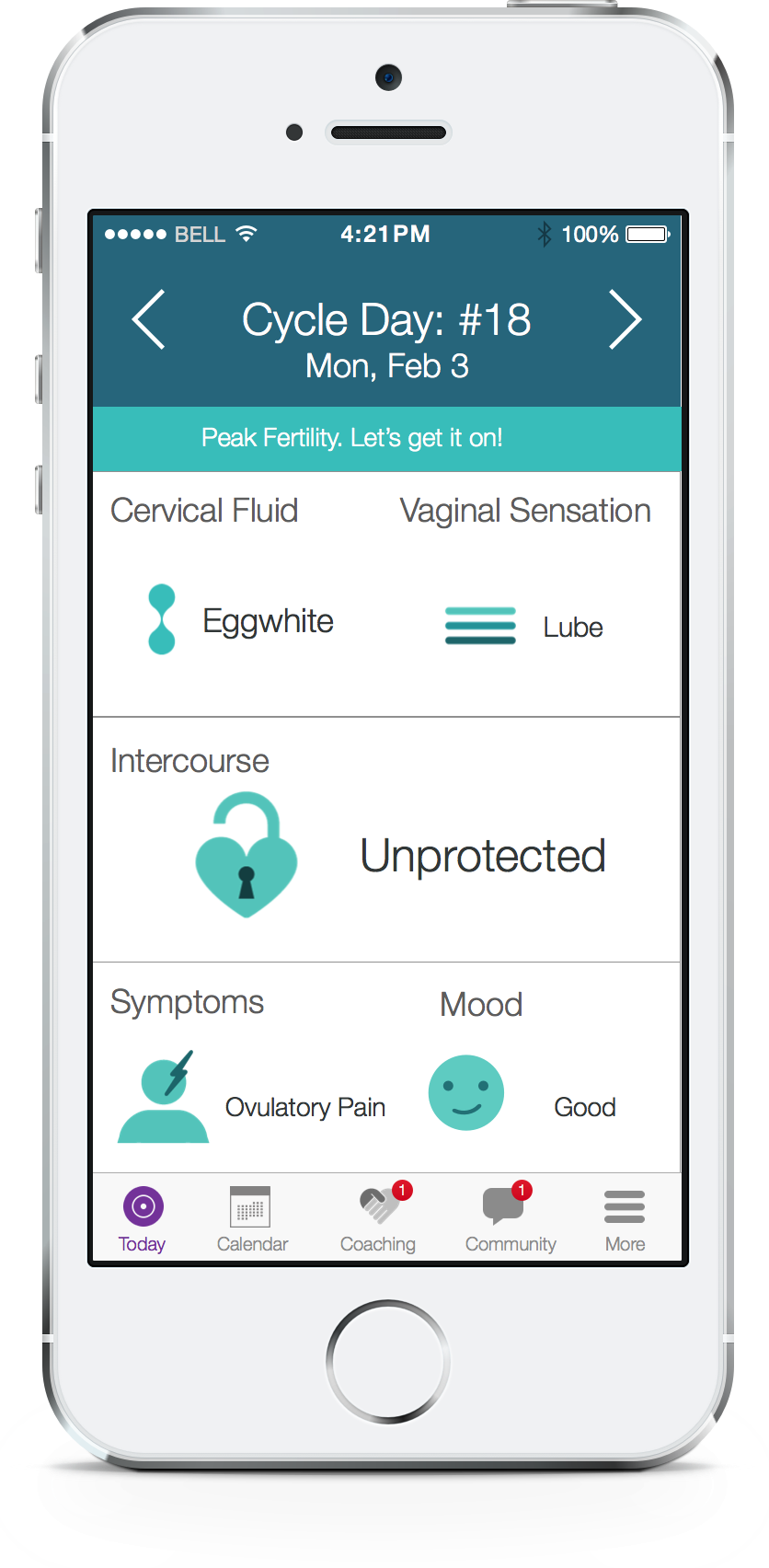 Ovatemp has built a mobile device-based fertility health platform inspired by one couple's personal experience