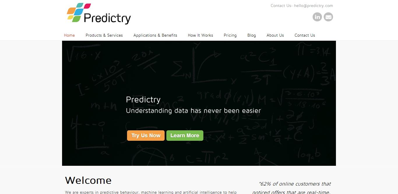 Predictry screenshot