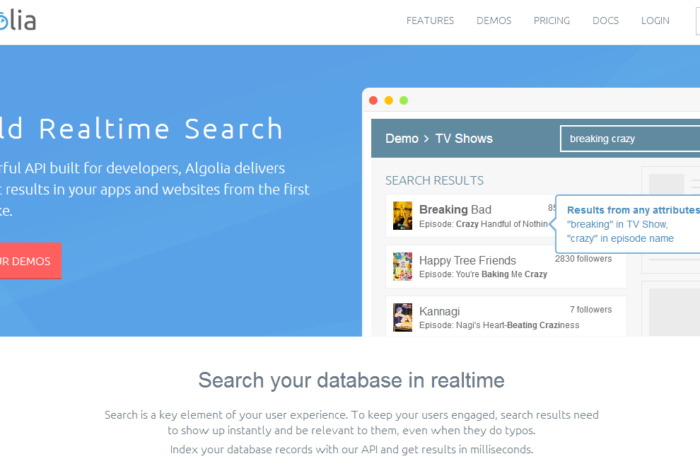 Search startup Algolia closes Seed funding with a big boost