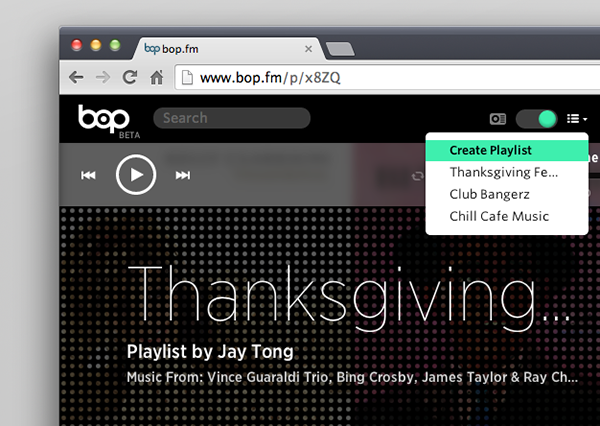 Bop.fm screenshot2