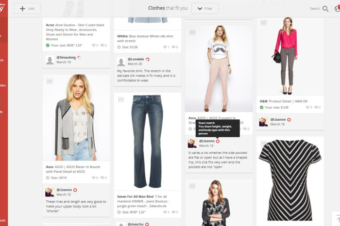 Social shopping with a purpose: Fitbay taps crowdsourcing to help shoppers find clothes that fit