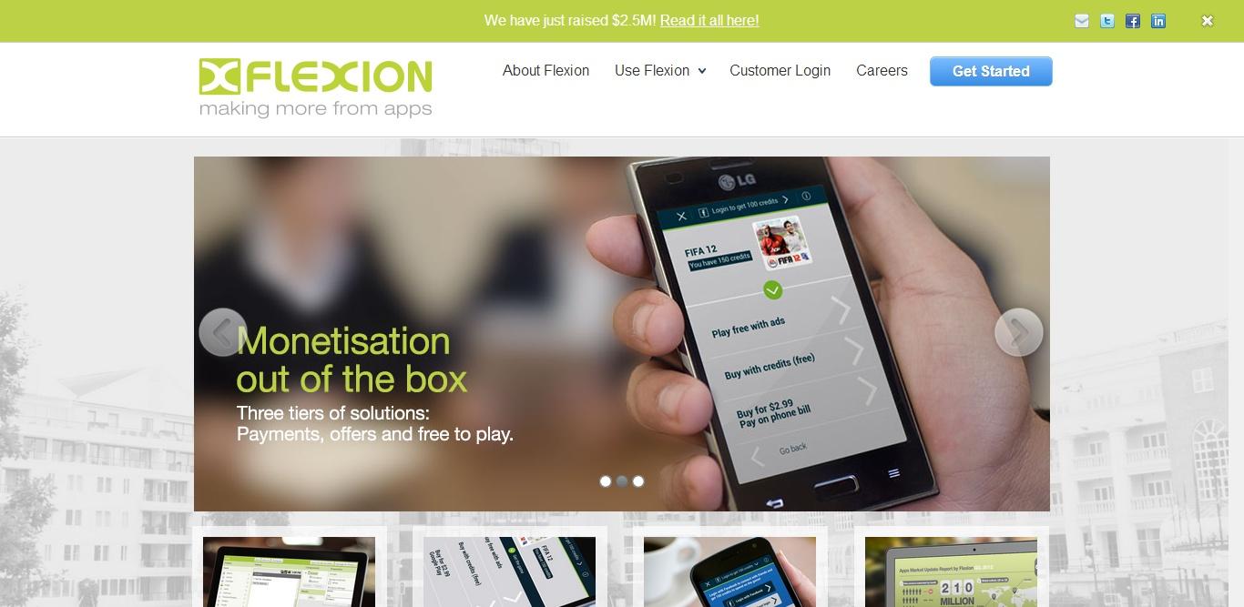 Flexion screenshot