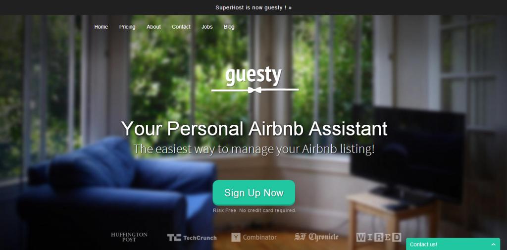 Guesty screenshot