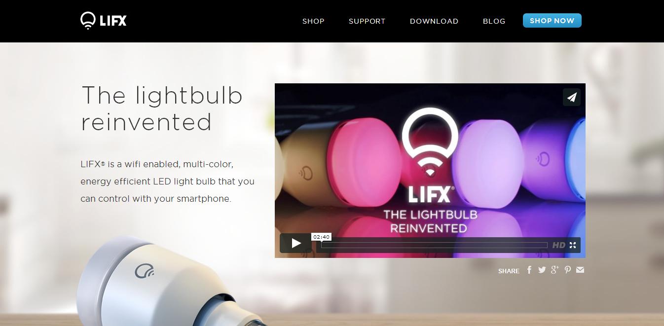 LIFX screenshot