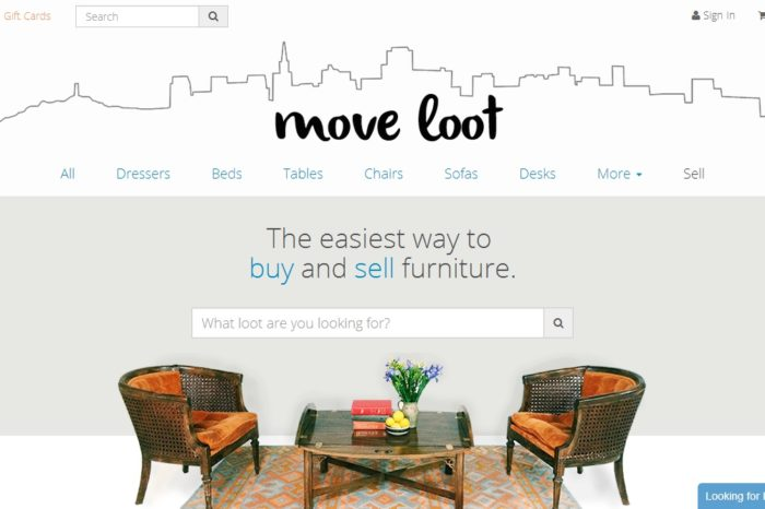 Move Loot gets $2.8M in loot of its own for its online furniture consignment shop