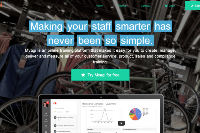 Myagi is on a mission to make corporate training more engaging and relevant