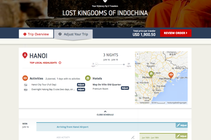 Nezasa has built a travel planning platform with the aim of being an end-to-end solution for customized trips