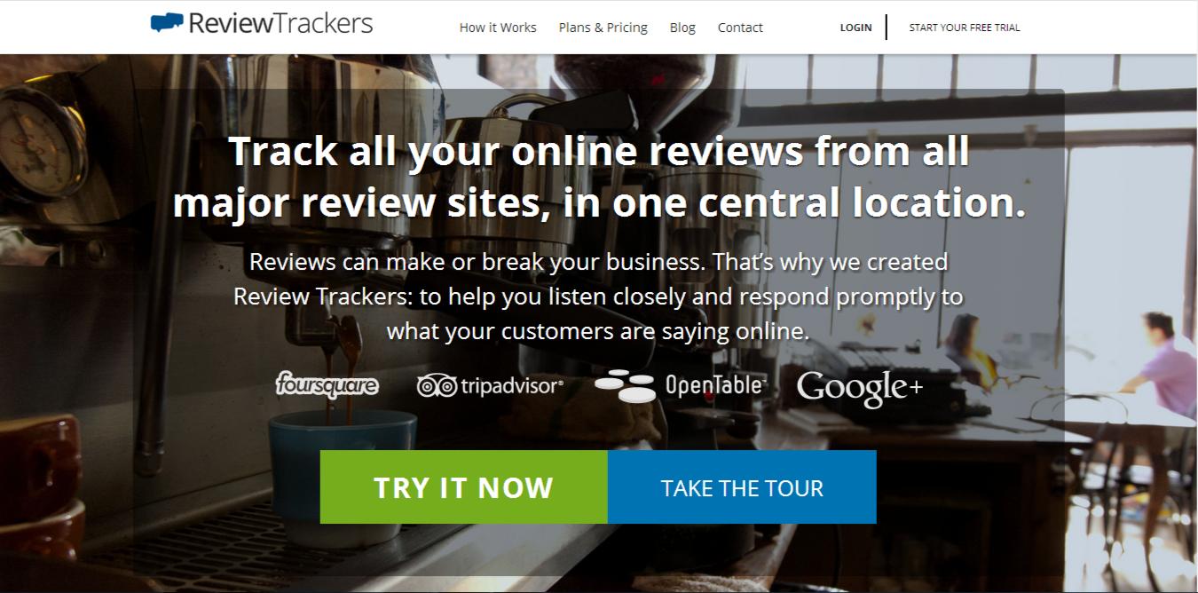 ReviewTrackers screenshot
