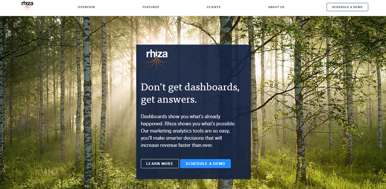 Rhiza screenshot