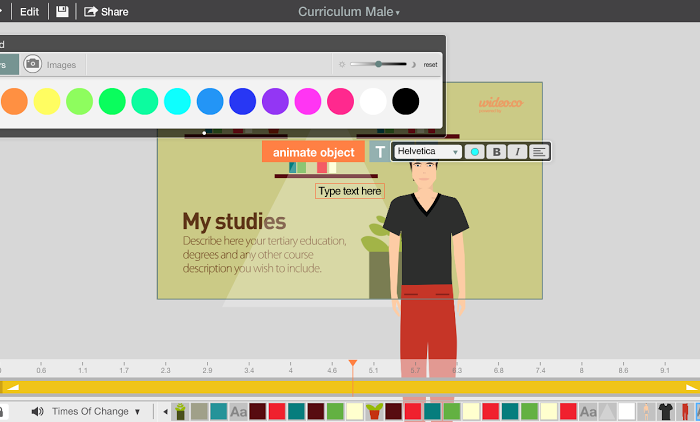Featured Startup Pitch: Wideo enables digital media novices to create custom animated video