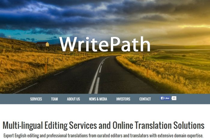 WritePath secures $525K for its international online copyediting and translation service