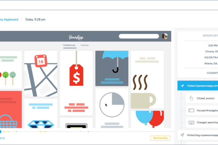 FullStory completes a $1.2M Series A round for its real-time website interaction tracker