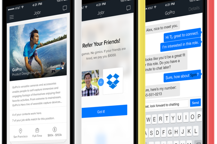 Jobr raises $2M for its mobile job search and recruitment app