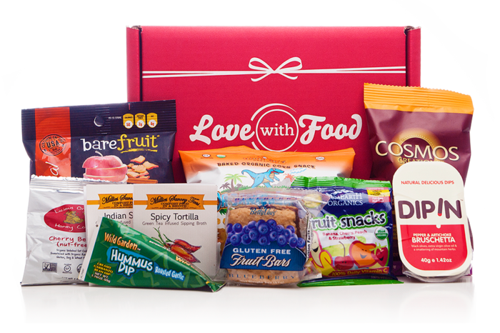 Love With Food is working to connect consumers with healthy snacks, and food brands with valuable data