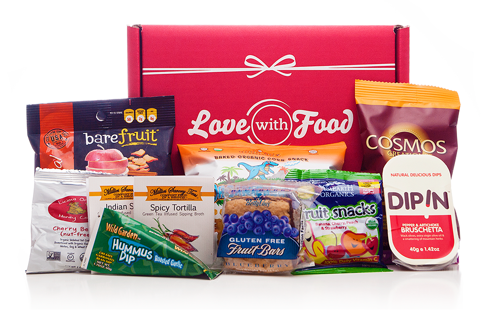 Love With Food is working to connect consumers with healthy snacks