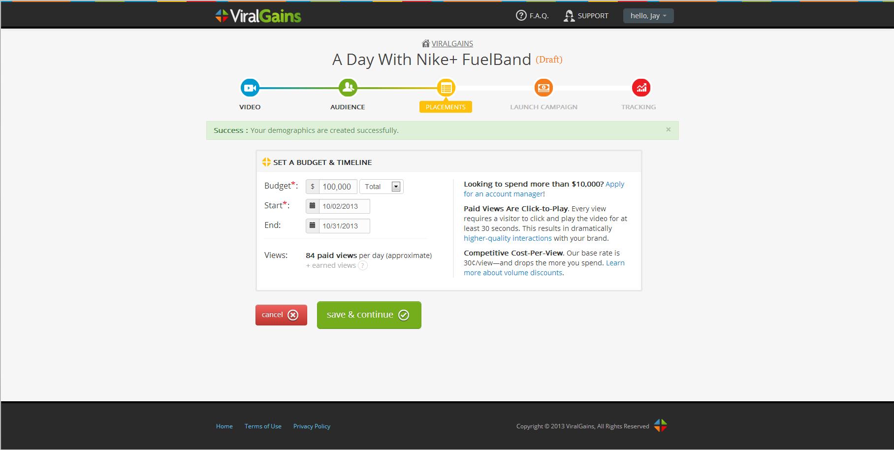 ViralGains screenshot