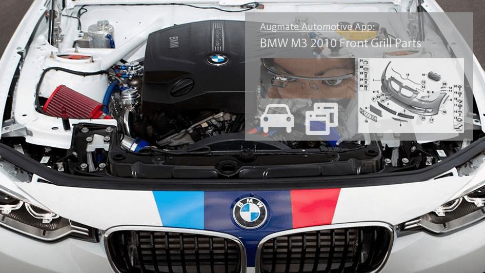 Augmate automotive screenshot