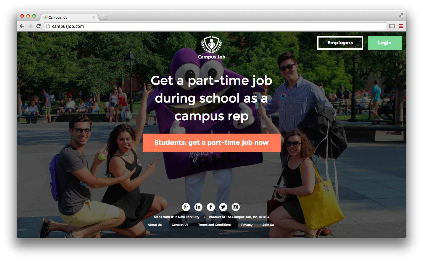 CampusJobs screenshot
