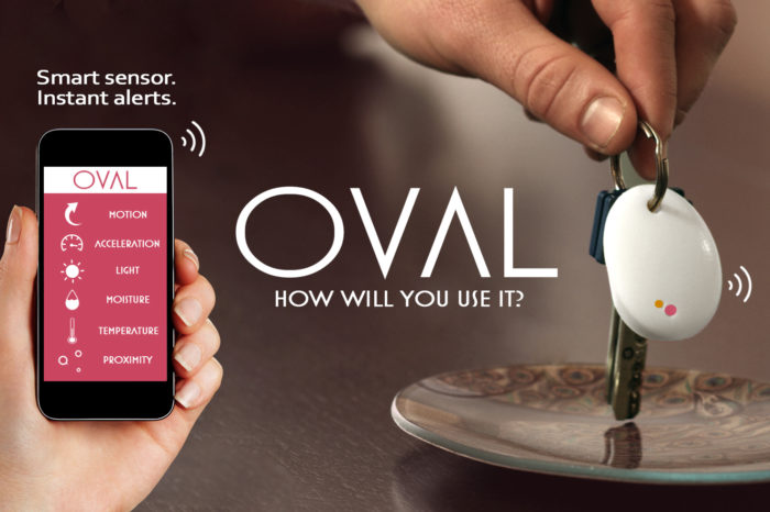 Featured Startup Pitch: OVAL's connected sensor is built to enable consumers to better keep track of the things most important to them