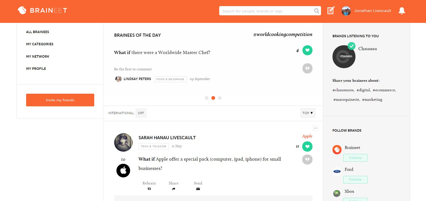 Braineet screenshot1