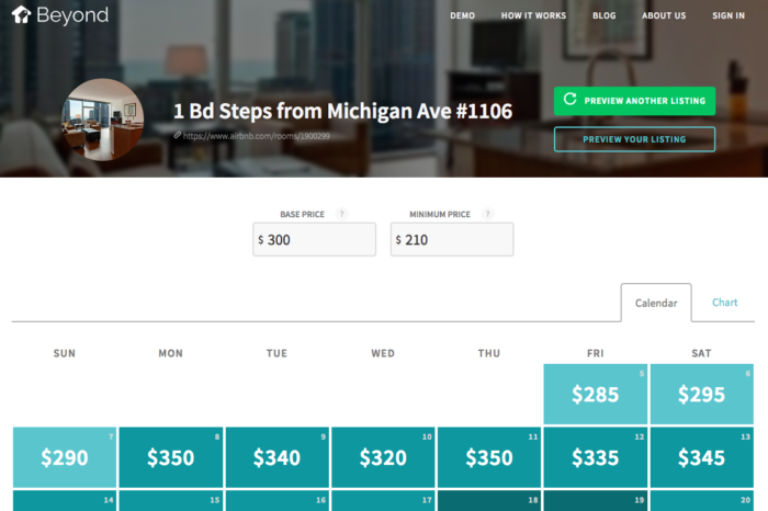 Featured Startup Pitch: Beyond Pricing enables Airbnb and HomeAway hosts to implement dynamic pricing to maximize revenue