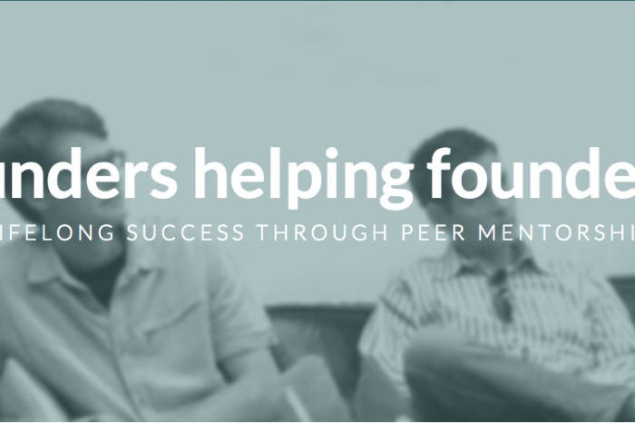 Featured Startup Pitch: Founders Network offers a value proposition for entrepreneurs based on facilitating long-term peer mentorship and support