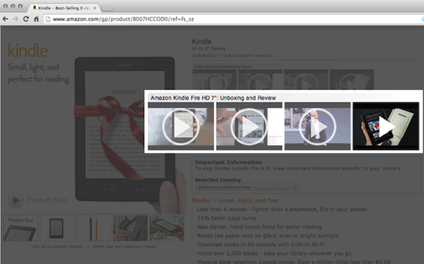 Videoly's video search technology enables brands to incorporate user-generated video into their ecommerce sites