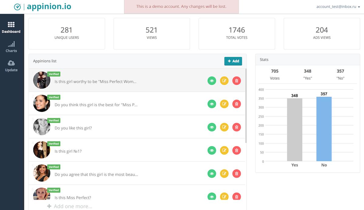 Appinion screenshot2