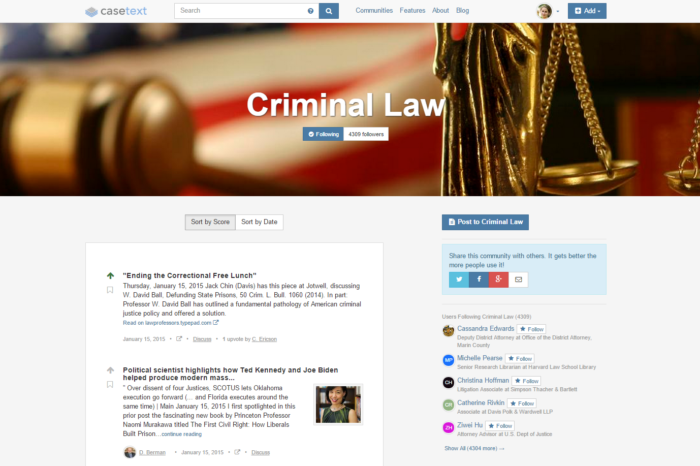 Casetext is tapping into data and crowdsourcing to make the law more understandable