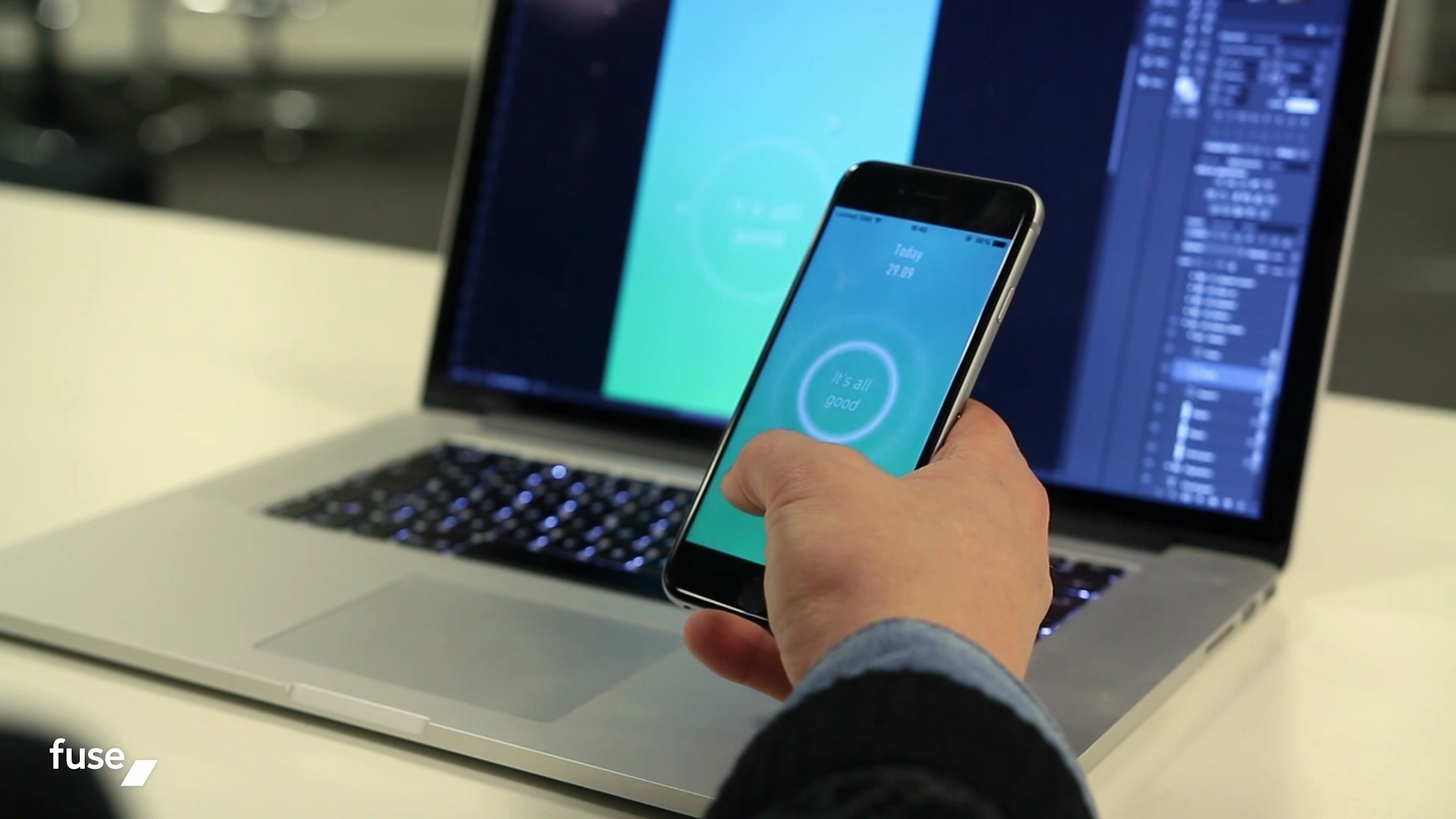 fuse has built a mobile app dev platform that merges the worlds of design and development